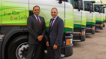Brothers Harry and Suki Dulai, managing director and chief executive respectively of Surya Foods, Ha