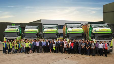 The Surya Foods team at its headquarters in Harwich. Picture: ASHISH AMIN