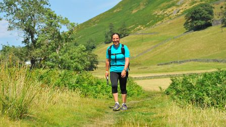 Former army officer Lizzie Rosewell, from Suffolk, has set herself a gruelling 360 mile running chal