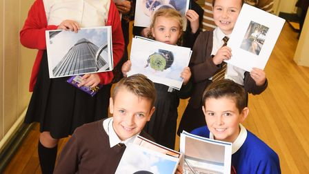 The winners of the Harwich and Dovercourt High School photography competition. Picture: GREGG BROWN