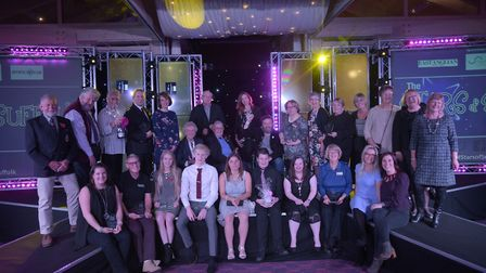 Winners of the Stars of Suffolk Awards 2017. Picture: SARAH LUCY BROWN
