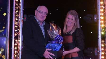 Terry Hunt received the Lifetime Achievement Award. Picture: SARAH LUCY BROWN