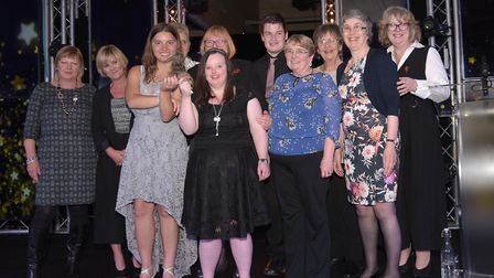 Team of the Year winners� Caf� 66. Picture: SARAH LUCY BROWN