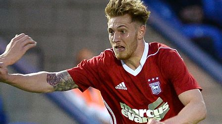 Teddy Bishop scored for Ipswich Town's Under 23s at Millwall. Picture: PAGEPIX