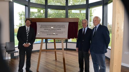 The opening of Framlingham College's new Fowler Pavilion. Picture: FRAMLINGHAM COLLEGE