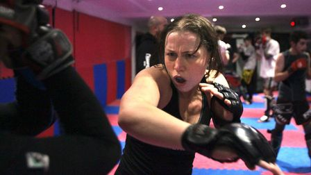 Kerry Hughes is set to face Cindy Dandois at Cage Warriors 89 in Belgium. Picture: ARCHANT