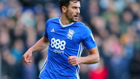 Birmingham's kit is very similar to Ipswich's. Picture: PA