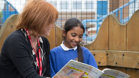Beanstalk are looking for volunteers to help children in Suffolk to read. Picture: Beanstalk