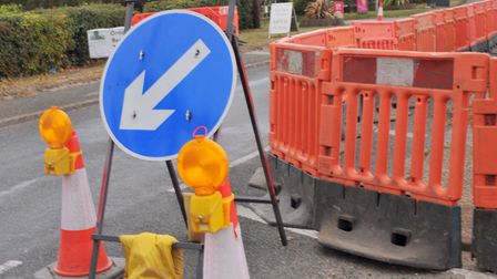Roadworks can cause problems, but if the county had no money to maintain the road network there woul