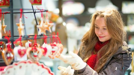 Enjoy Christmas shopping at the Christmas Craft and gift market. Picture: GETTY IMAGES/iSTOCKphoto