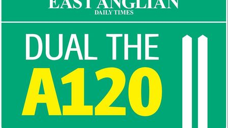 The East Anglian Daily Times is campaigning to Dual the A120, but does not back any specific route