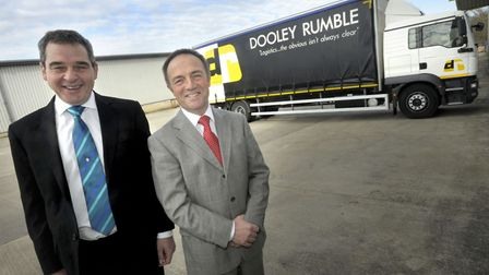 Dooley Rumble founders Neil Dooley and Simon Rumble. Picture: Archant.
