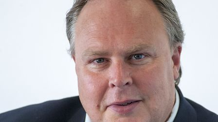 Richard Smith, Suffolk County Council's cabinet member for finance. Picture: SUFFOLK CC