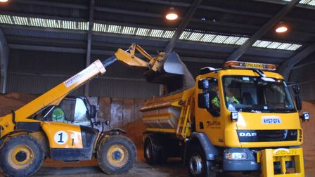 Gritting could be reduced to save costs. File picture: LUCY TAYLOR