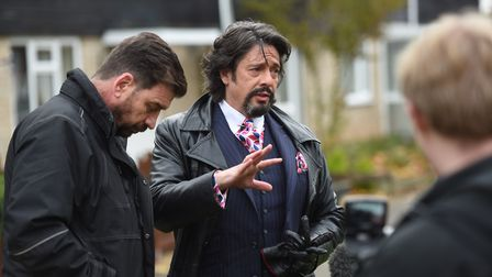 Show presenters Nick Knowles and Laurence Llewelyn-Bowen. Picture: GREGG BROWN