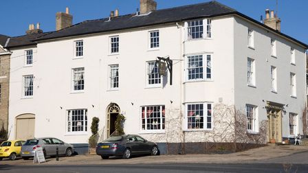The Black Lion,Long Melford before it's recent refurbishment by the Chestnut Group. Picture: Ronnie