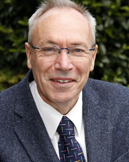 Geoff Holdcroft has suggested parking at Suffolk Coastal's old offices could alleviate problems. Pic