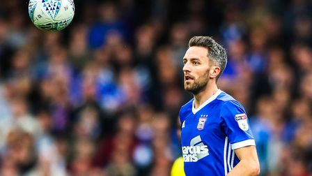 Ipswich Town midfielder Cole Skuse has returned to training. Picture: STEVE WALLER