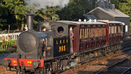 The Mid Suffolk Light Railway is to be recognised for its services to heritage. Picture: LAWRIE ROSE