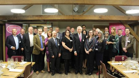 The launch of ONE Haverhill Business Angels at Baythorne Hall. Picture: Gooderham PR