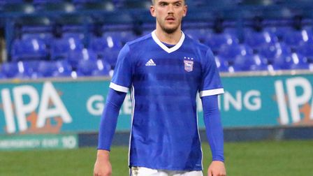 Emyr Huws played for Ipswich Town's U23s during the international break. Picture: ROSS HALLS