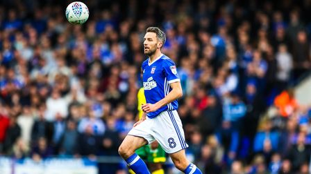 Cole Skuse has recovered from his bruised shin. PICTURE: STEVE WALLER