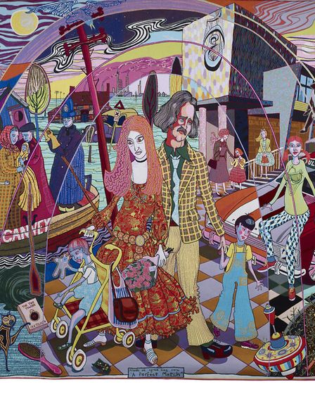 A Perfect Match, 2015, by Grayson Perry, Courtesy the artist, Paragon   Contemporary Editions Ltd an