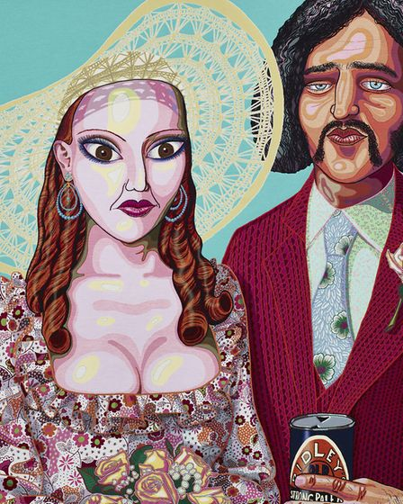 In its Familiarity Golden, 2015, by Grayson Perry, Courtesy the artist, Paragon   Contemporary Editi