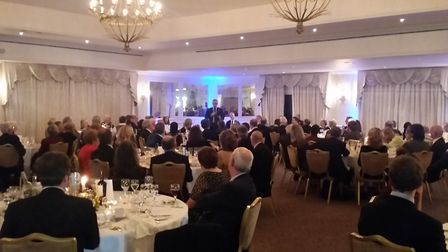 South Suffolk Conservative Association Annual Dinner on November 10. 2017 at Stoke by Nayland Hotel,
