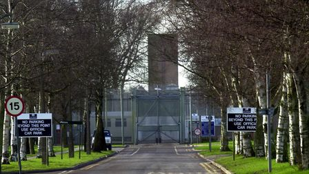 HMP Highpoint in Stradishall. Picture: MICHAEL HALL