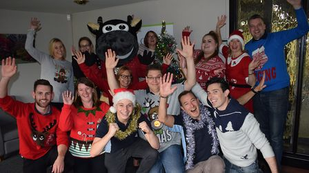 Staff at Waddington Brown will be taking part in Woolly Pully Week for St Elizabeth Hospice this yea