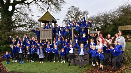 Easton Primary School was ranked as the joint-best primary school in Suffolk for the 2016 Key Stage