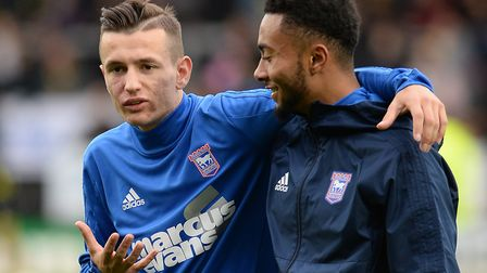 Bersant Celina with Grant Ward at Burton Albion Picture Pagepix