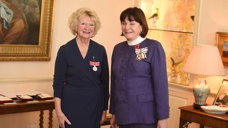Margaret Mason pictured with Lady Clare Picture: GREGG BROWN