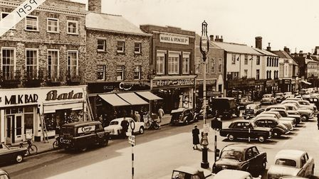 Marks & Spencer's Buttermarket store in 1959. Picture: AMBERLEY PUBLISHING