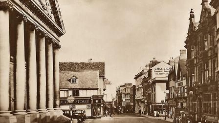 Abbeygate Street. Horse transport is part of history and traffic is one way. Picture: AMBERLEY PUBLI
