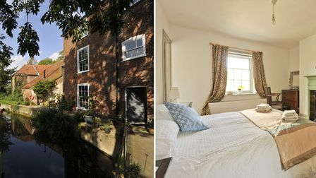 Guests who stay at Wainford Mill House have access to a boat so can enjoy a trip down the river. Pic