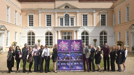 The 2017 Stars of Suffolk awards were launched in April at Hintlesham Hall. Picture: SARAH LUCY BRO