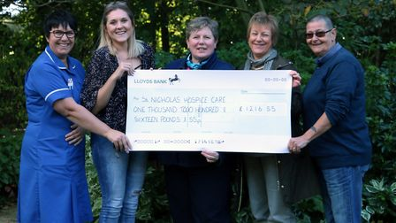 Family and friends have raised more than �2,000 in memory of Haverhill woman Gemma Dear. Picture: ST