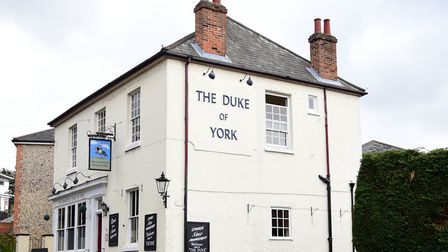 Did the The Duke of York's men stop off halfway up the hill here? Picture: SARAH LUCY BROWN