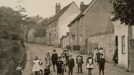 Was the nursery rhyme star twinkling over Shilling Street Lavenham? Picture: LIBRARY
