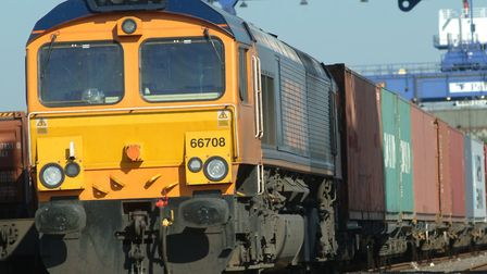 A faulty freight train has blocked the line between Cambridge and Ipswich. Picture: ARCHANT LIBRARY