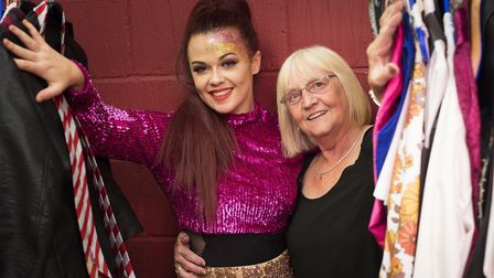 Jean Swatman and her grandaughter Lauren Utting. Picture: ADY KERRY/CAMELOT