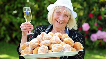Jean Swatman, from Lowestoft, after she won �2,021,379 in 2013. Picture: JAMES BASS