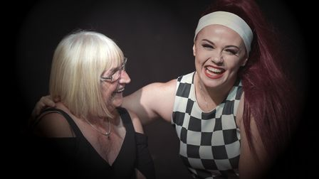Lauren Utting with her grandmother, Jean Swatman, who funded her place at the Venue of Performing Ar