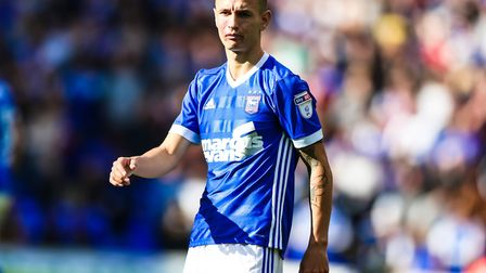 Bersant Celina has made two league starts for Ipswich Town. Photo: Steve Waller