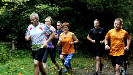Runners taking part in the Clare Castle Parkrun. Picture: ANDY ABBOTT