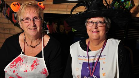 Janet Pulham and organiser Lesley Nunn. Picture: SARAH LUCY BROWN