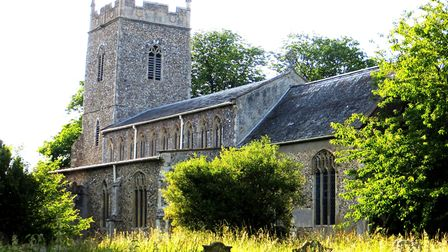 St Mary Church in Cratfield, which has been targetted by lead thieves in the past. Picture: CONTRIBU