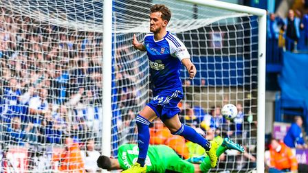Emyr Huws hasn't featured at all for Ipswich Town yet this season. Photo: Steve Waller